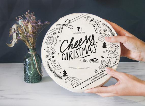 24 fromages pour le calendrier de l'avent