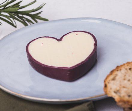 Un fromage en forme de coeur pour la St Valentin