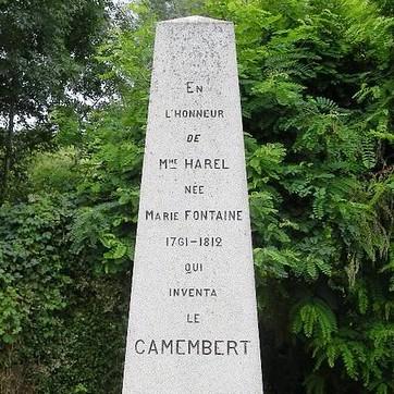 L'histoire de Marie Harel, Sainte-Patronne du camembert !