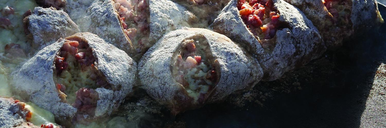 Recette de la fondue dans une miche de pain