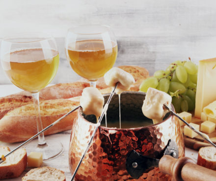 La fondue au cidre ou fondue bretonne