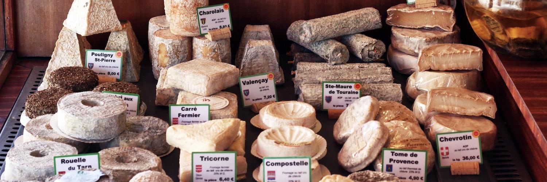 Fromage de France : la liste par région d'origine