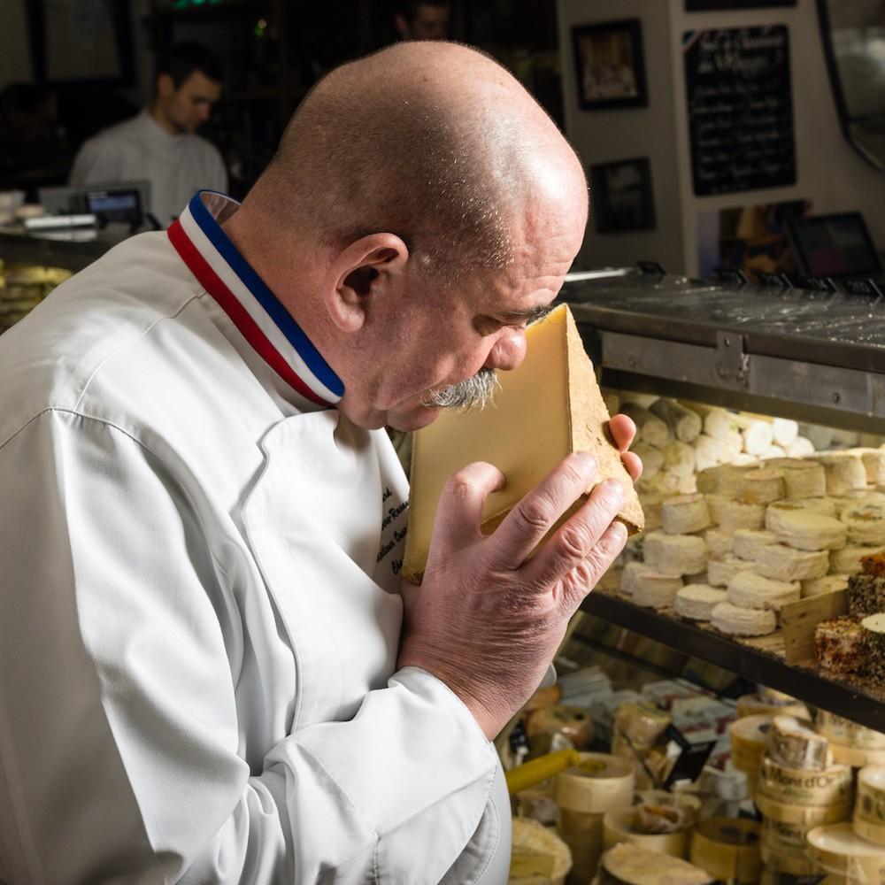 Livraison de raclette sélectionnée par un Meilleur Ouvrier de France
