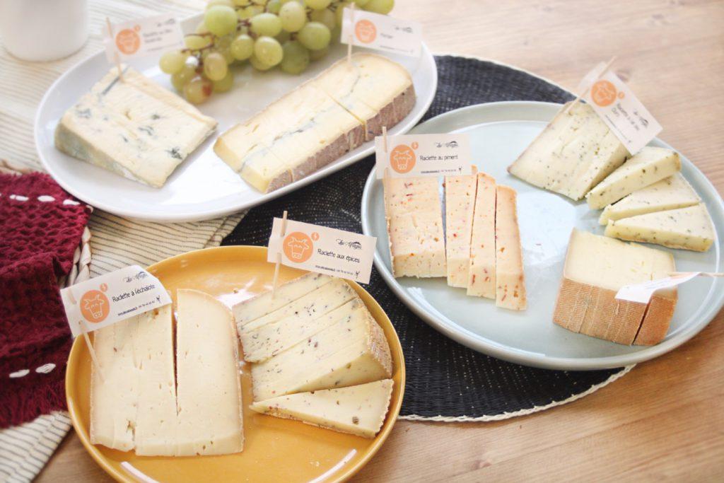 Congélation fromage à raclette