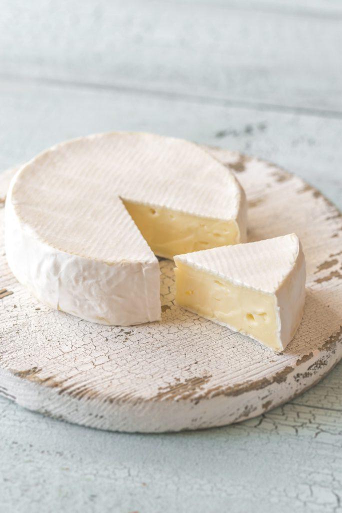 Congélation Camembert
